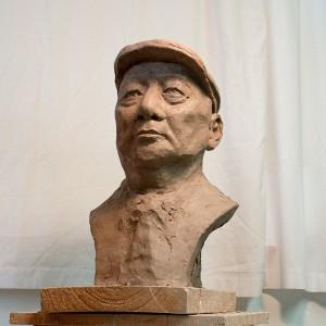 clay portrait sculpture