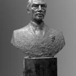 pierre elliott trudeau sculpture portrait