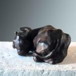 elizabeth-patrick-figurative sculpture of buffalo-vancouver-sculpture-studio